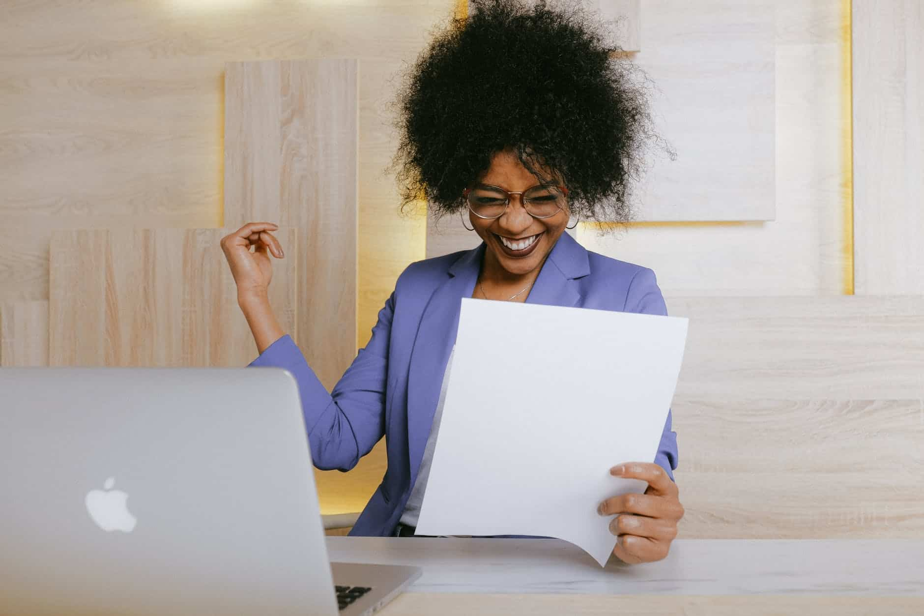 woman holding a paper Mastering Your Mind