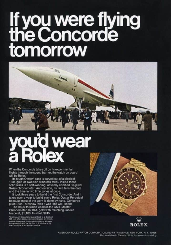 Vintage Rolex Advert